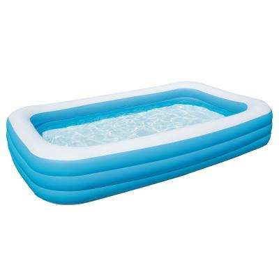 Deluxe Inflatable Rectangular Family Swim Center Pool