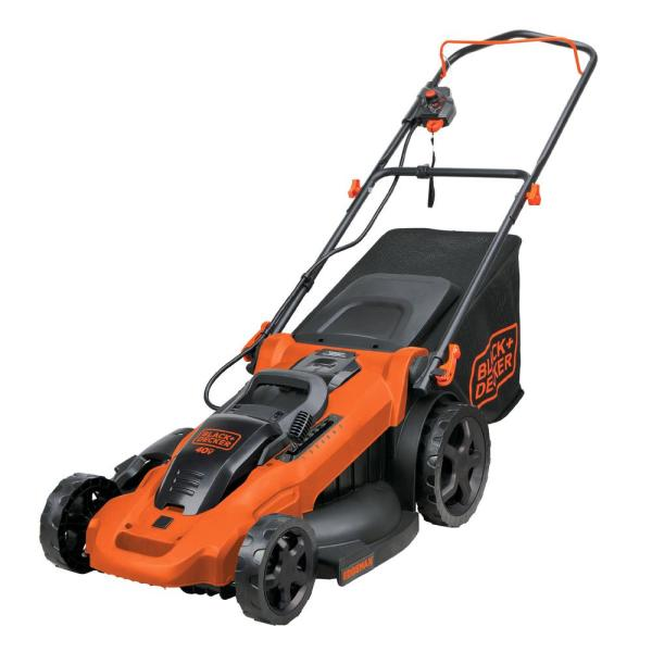 20 in. 40V MAX Lithium-Ion Cordless Walk Behind Push Mower with (2) 2.0Ah Batteries and Charger Included
