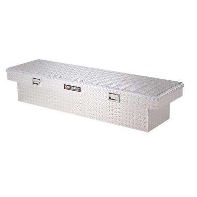 70.25 in Diamond Plate Aluminum Full Size Crossbed Truck Tool Box