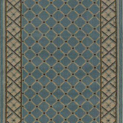 Stratford Bedford Light Blue 26 In X Your Choice Length Stair Runner
