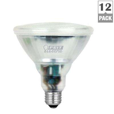 90-Watt Equivalent Bright White (3500K) PAR38 CFL Flood Light Bulb (12-Pack)