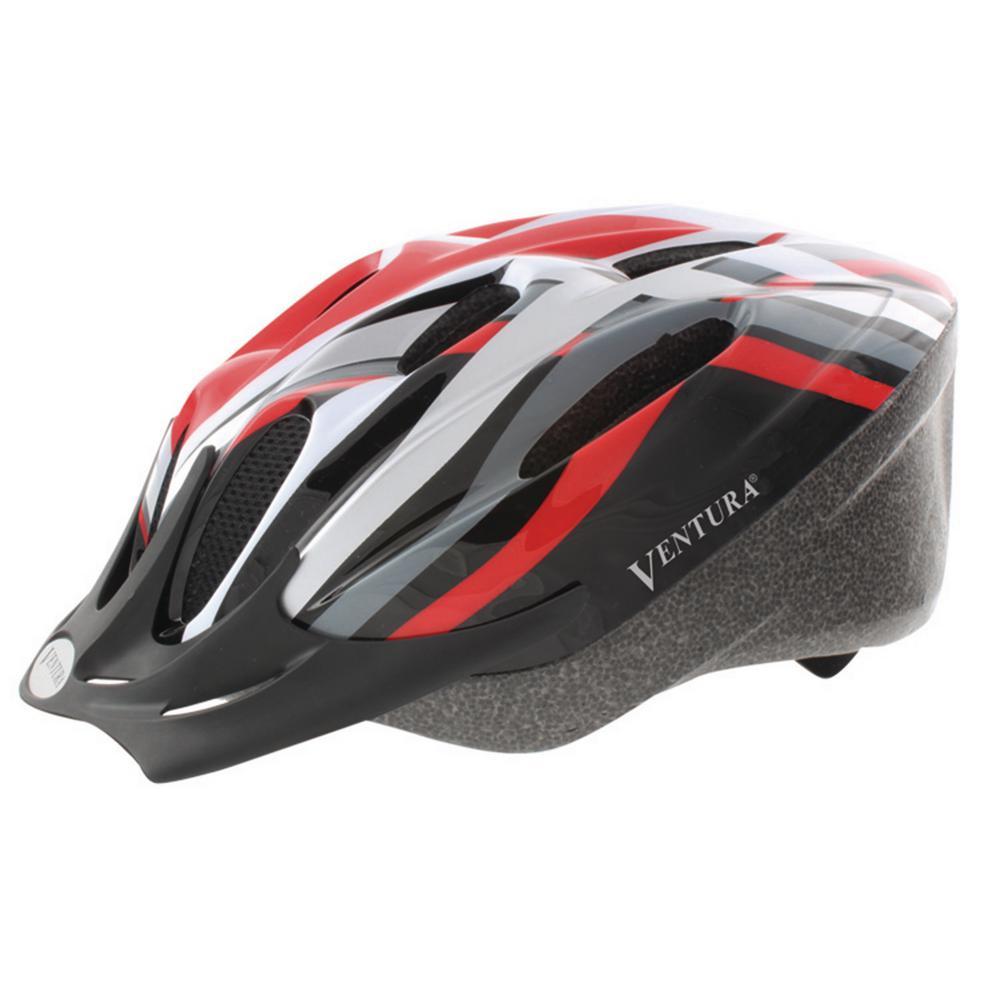 Heat Sport Medium Bicycle Helmet in Red