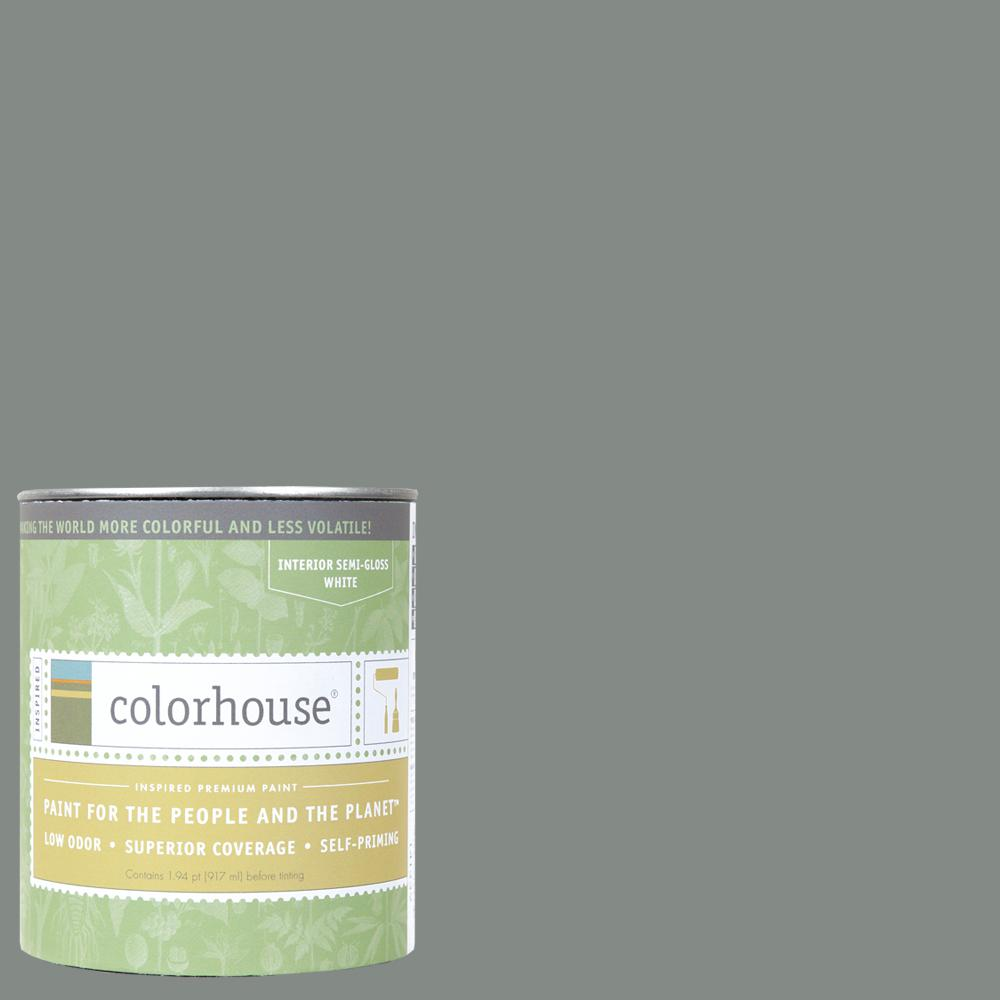 Colorhouse 1 qt. Stone .07 Semi-Gloss Interior Paint