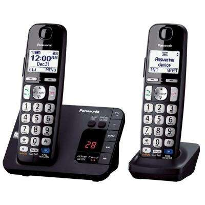 2-Handset Expandable Digital Cordless Answering System