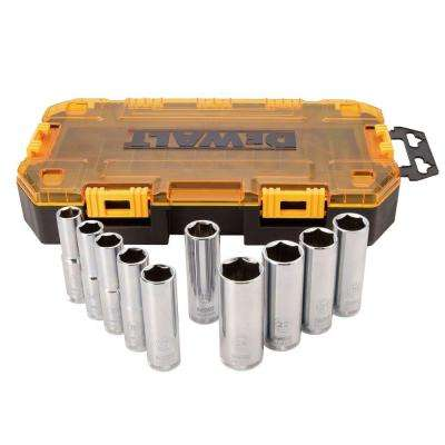 1/2 in. Drive Deep Socket Set (10-Piece)