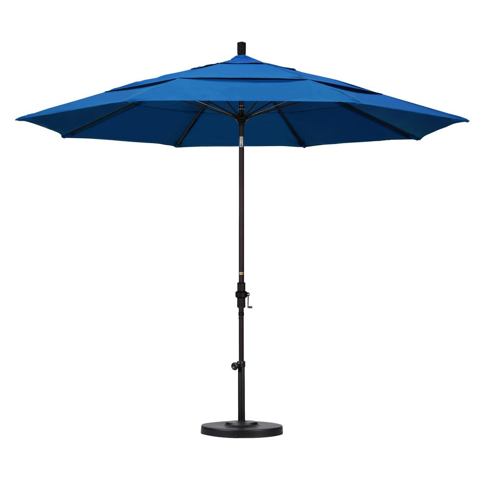 California Umbrella 11 Ft Fiberglass Collar Tilt Double