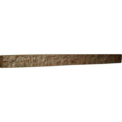 2 in. x 48-1/4 in. x 3 in. Terrastone Urethane Universal Trim for Stone and Rock Wall Panels
