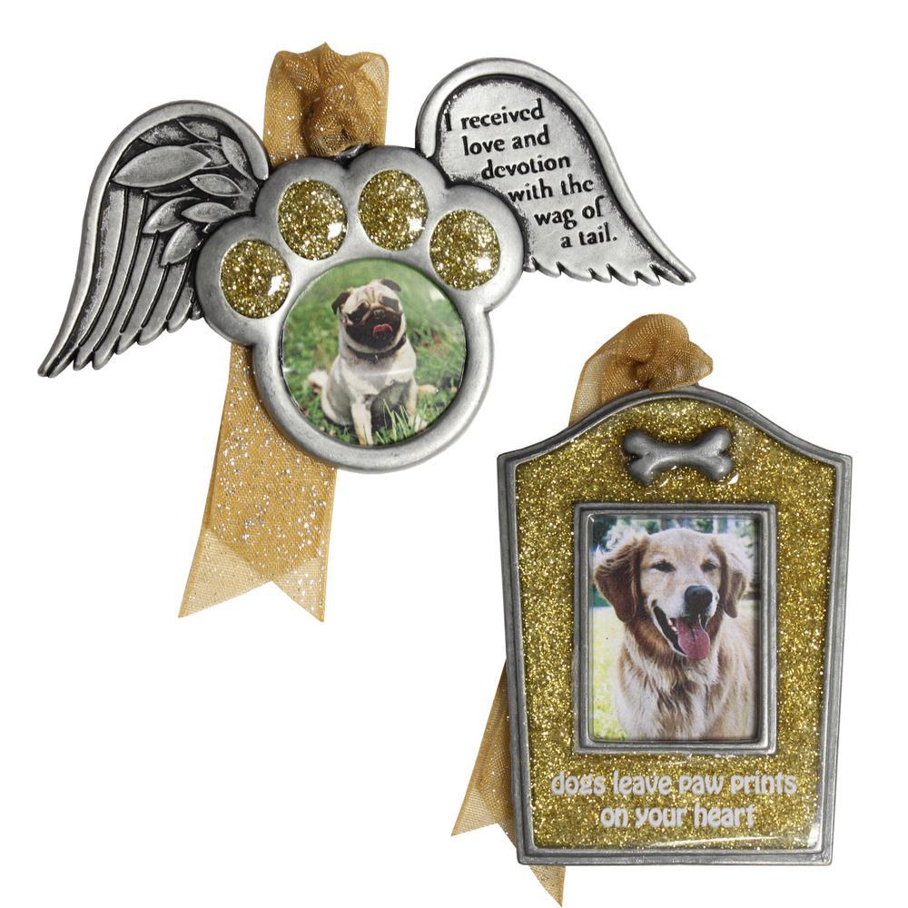 Dog Memorial Ornament Set