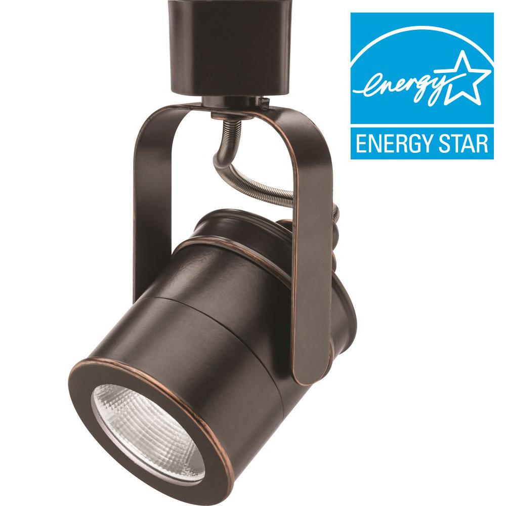 Spotlight 1 Light Oil Rubbed Bronze Integrated Led Track Lighting Head