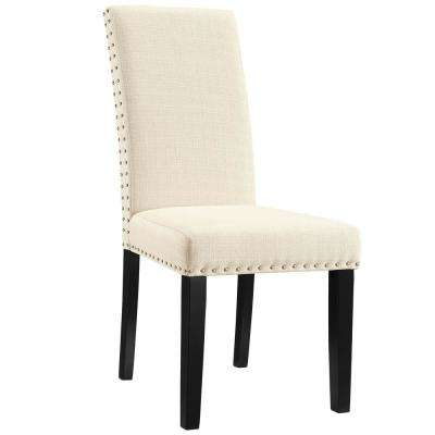 Beige Parcel Dining Fabric Side Chair