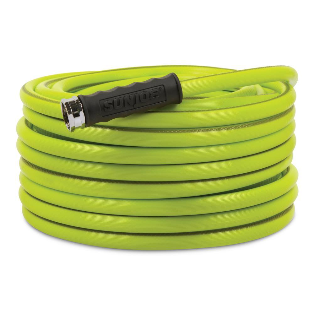 Aqua Joe 1/2 in. Dia. x 75 ft. Heavy Duty, Kink-Resistant, Lightweight Garden Hose, Lead-free, BPA-Free