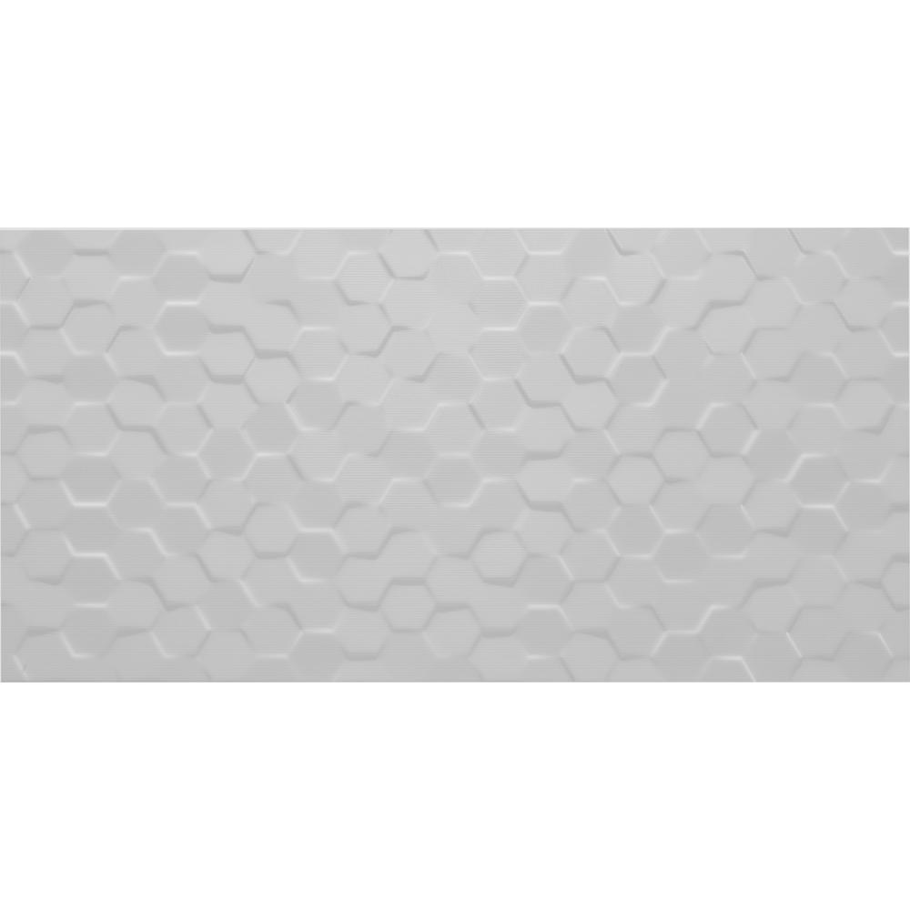 Daltile hexagon white floor tile gallery tile flooring design ideas daltile multitude urban grey 12 in x 24 in glazed ceramic hex daltile multitude urban grey dailygadgetfo Images