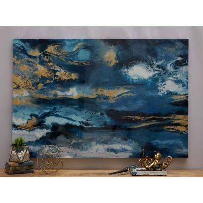 "40 in. x 59 in. ""Blurry Sky"" Canvas Wall Art by Unknown Artist"