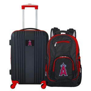 MLB Los Angeles Angels 2-Piece Set Luggage and Backpack