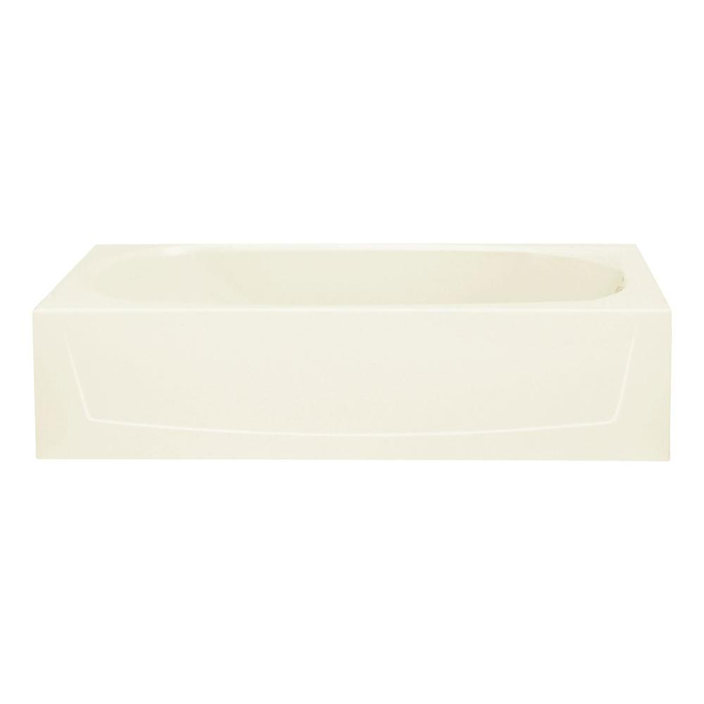 STERLING Performa 5 ft. Right Drain Rectangular Alcove Soaking Tub ...