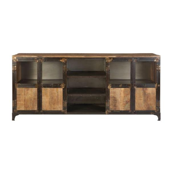 Manchester Natural Reclaimed Entertainment Center