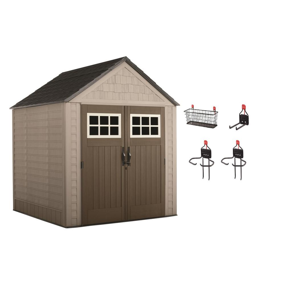 Big Max 7 ft. x 7 ft. Storage Shed with Accessory