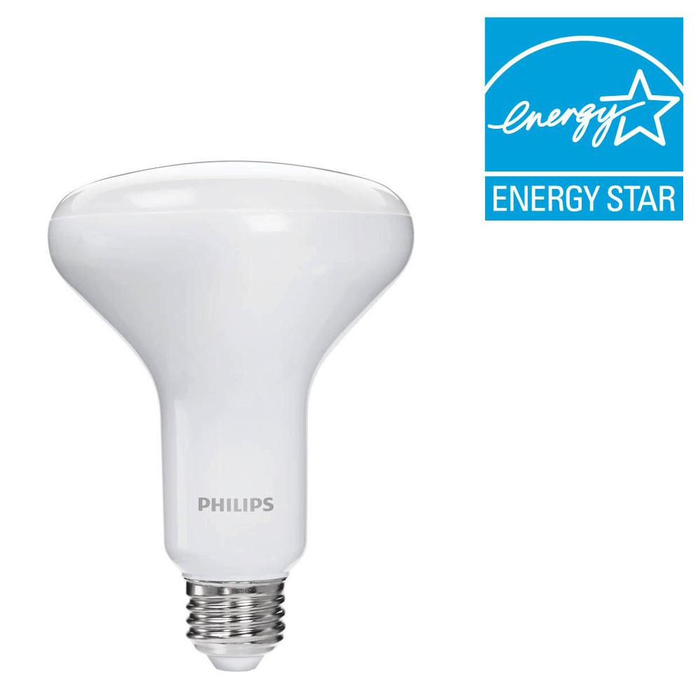 Philips 65-Watt Equivalent BR30 Dimmable LED Soft White Warm Glow Effect (E)*