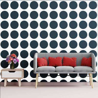 3/8 in. x 23-3/4 in. x 23-3/4 in. Large Wembley White Architectural Grade PVC Decorative Wall Panels
