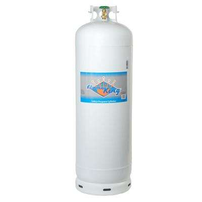 100 lb. Empty Propane Cylinder with POL Valve