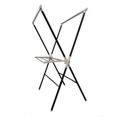 Black Folding Laundry Rack