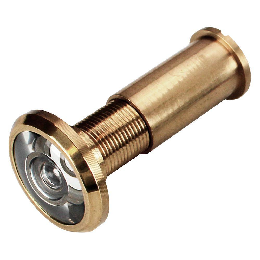Defiant Bright Brass 200 Degree Door Viewer 70522 The