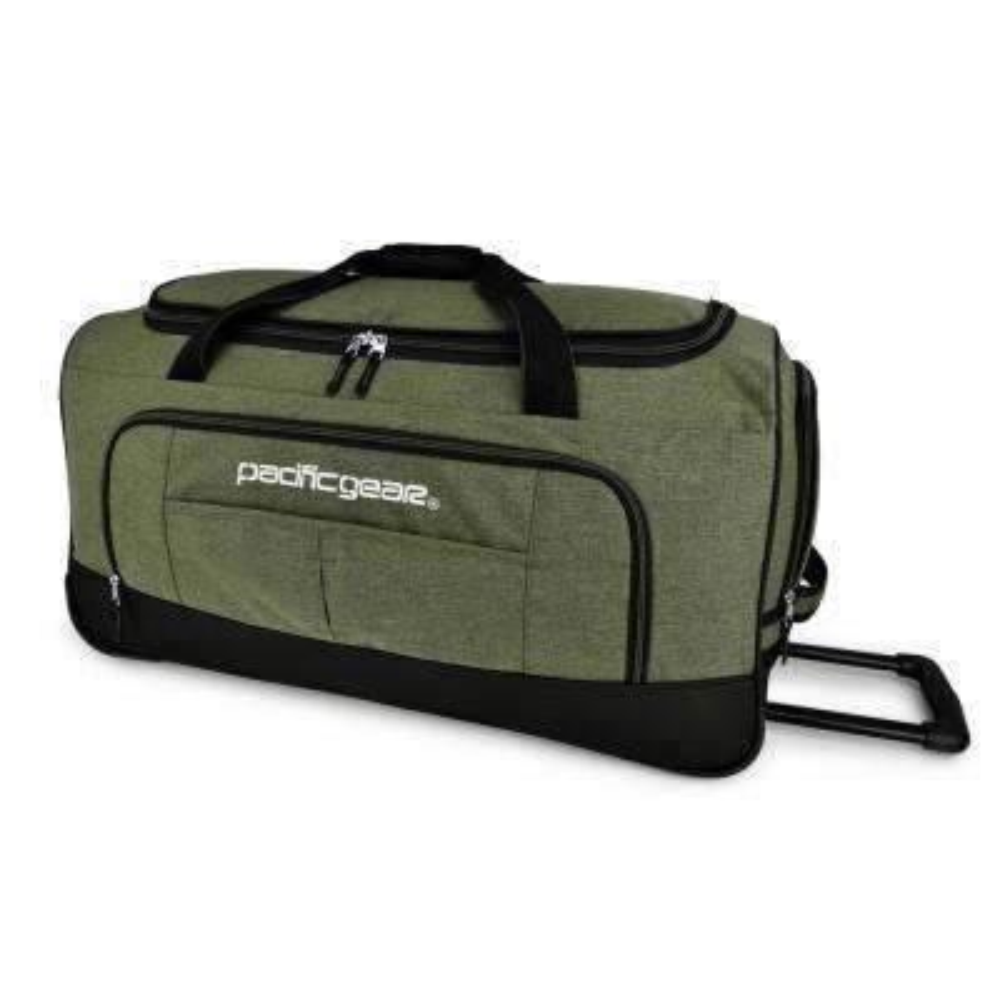 Keystone 30 in. Rolling Olive Duffel Bag