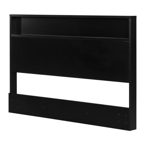 Holland Full/Queen-Size Headboard in Pure Black