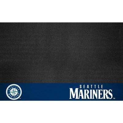 Seattle Mariners 26 in. x 42 in. Grill Mat