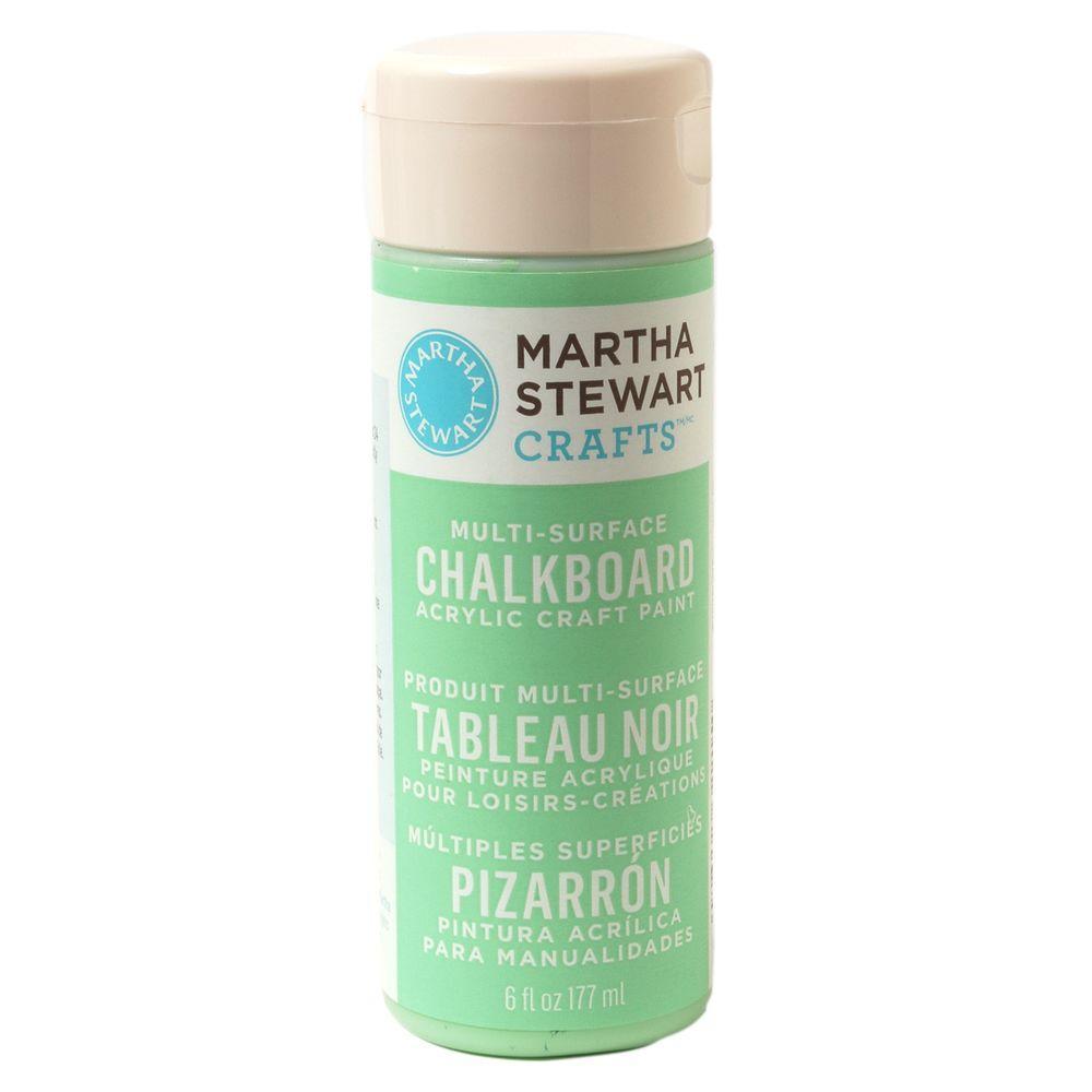Martha Stewart Crafts 6-oz. Green Multi-Surface Chalkboard Acrylic Craft Paint
