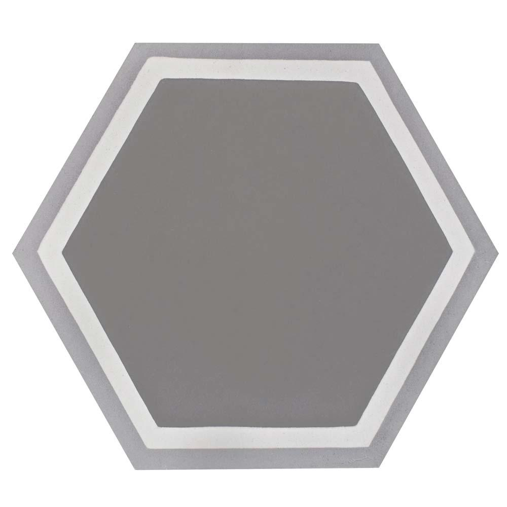 Gray cement tile tile the home depot cemento hex holland strait 7 78 in x 9 in cement dailygadgetfo Images