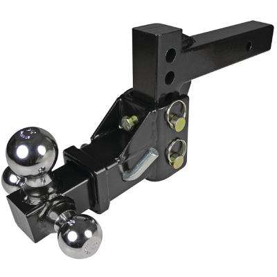 Adjustable Tri-Ball Trailer Hitch