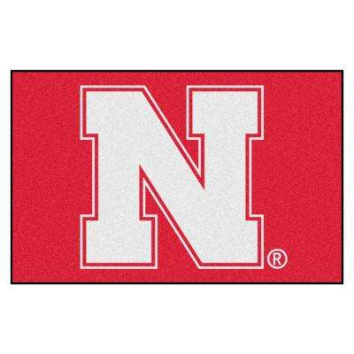 University of Nebraska 19 in. x 30 in. Accent Rug