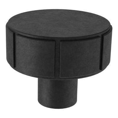 Rustic Industrial 1-1/4 in. (32mm) Soft Iron Round Cabinet Knob