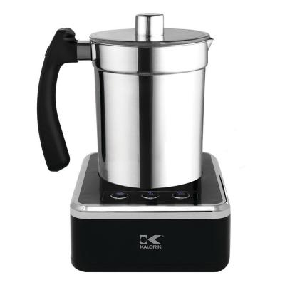 13.5 oz. Black Stainless Steel Electric Milk Frother