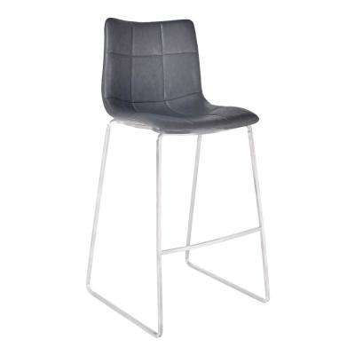 30 in. Hamilton Silver Bar Stool