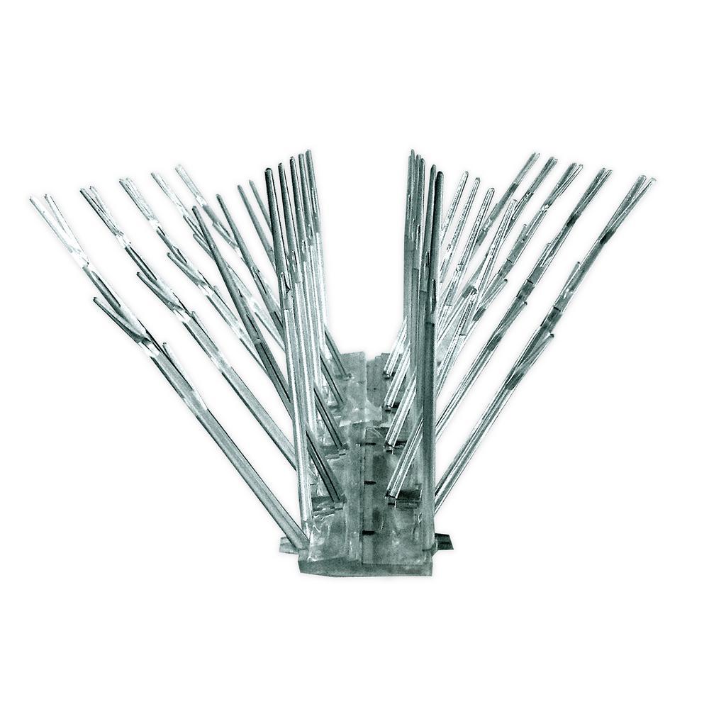 50 ft. Original Plastic Bird Spikes Kit Pigeon Repellent