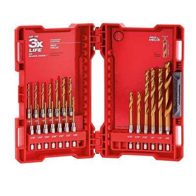 SHOCKWAVE IMPACT DUTY Titanium Drill Bit Set (20-Piece)