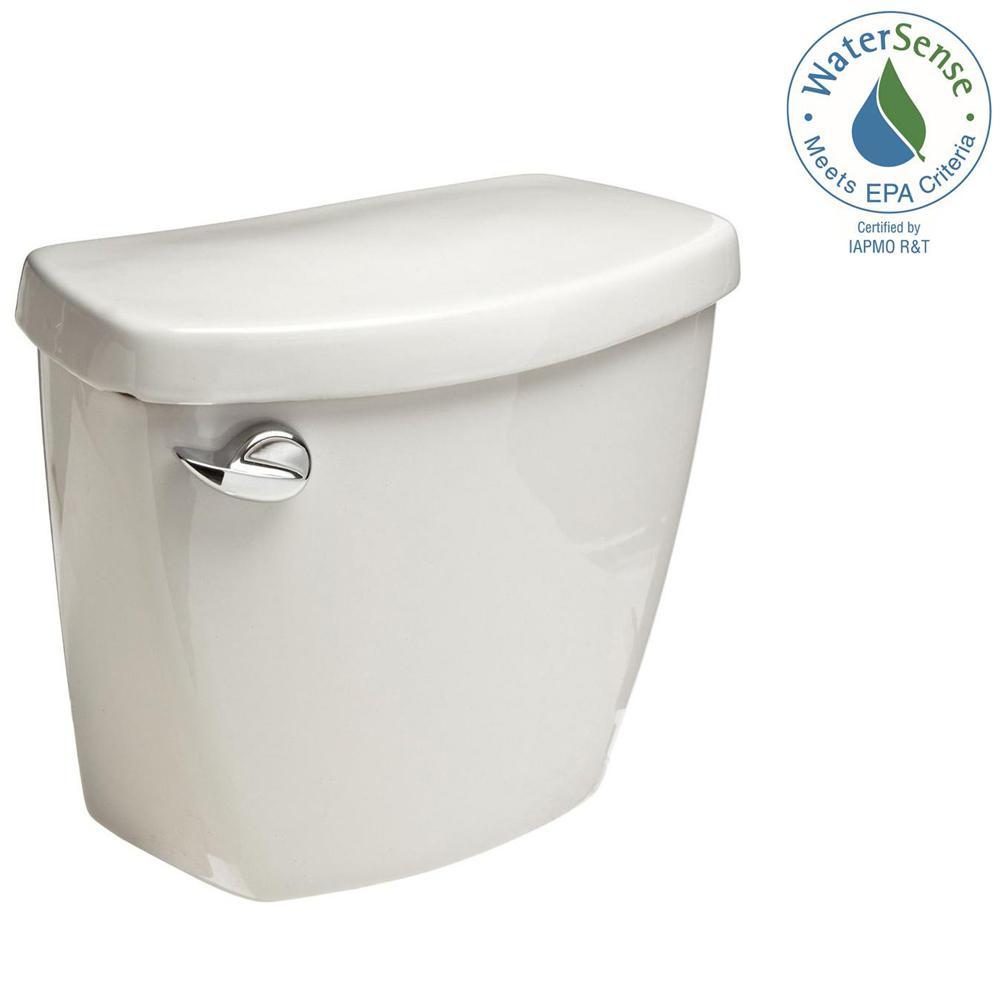 1.28 GPF Single Flush Toilet Tank Only in White