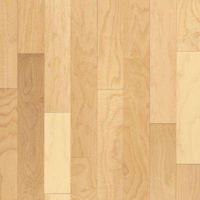 Prestige Natural Maple 3/4 in. Thick x 3-1/4 in. Wide x Random Length Solid Hardwood Flooring (22 sq. ft. / case)