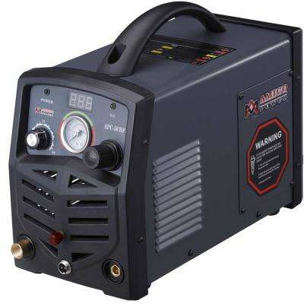 50 Amp 115-Volt/230-Volt Dual Voltage Non-Touch Pilot Arc Plasma Cutter, 3/4 in. Clean Cut Cutting Machine