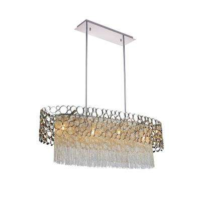 Victoria 4-Light Chrome Chandelier