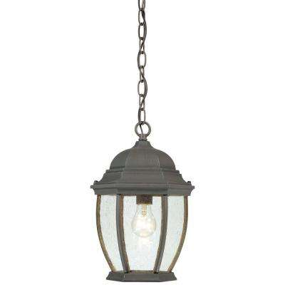Covington 1-Light Painted Bronze Outdoor Hanging Lantern
