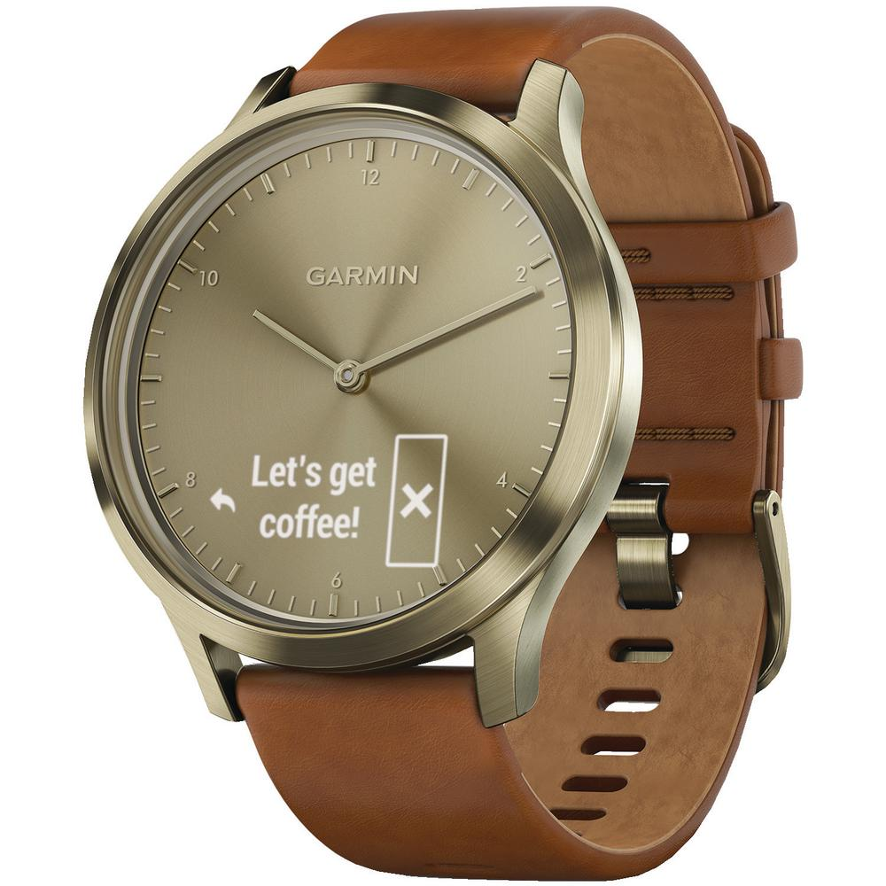 Vivomove HR Premium Gold Hybrid Smart Watch