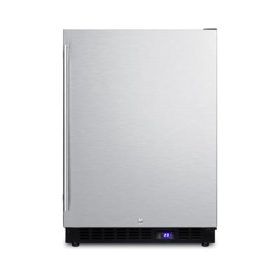 4.7 cu. ft. Frost Free Upright Freezer In Stainless Steel
