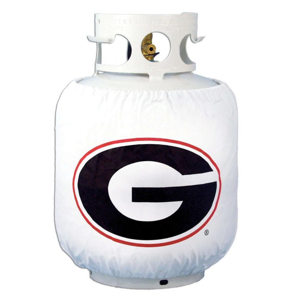 Team Sports America Georgia NCAA Grill Propane Tank Cover