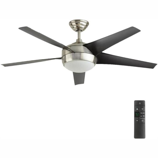 Windward Iv 52 In Led Indoor Brushed
