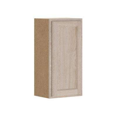 Stratford Assembled 15x30x12 in. Wall Cabinet in Unfinished Oak