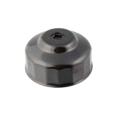 86 mm x 16 Flute Oil Filter Cap Wrench in Black