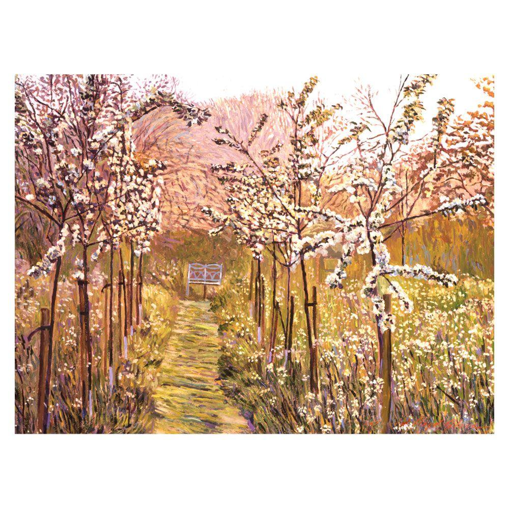 Trademark Fine Art 24 in. x 32 in. Orchard Morning Canvas Art